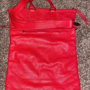 Handbags - Red leather purse